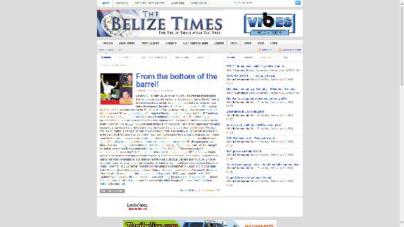 Belize Times, The